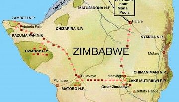 Team Zimbabwe 2021 - THE SAFARI EXPERIENCE